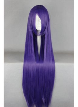 Busujima Saeko Hairstyle Long Straight Cosplay Wig 30 Inches
