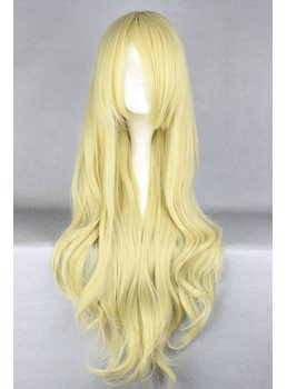 Honey&Clover Hairstyle Long Loose Wave Golden Cosplay Wig 28 Inches