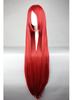 Shana Hairstyle Long Straight Red Cosplay Wig 30 Inches