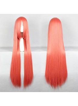 Hoan Meirin Hairstyle Long Straight Mixed Pink Cosplay Wig 30 Inches