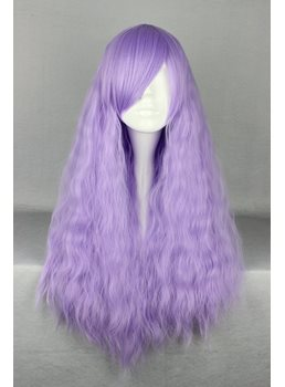 Japanese Lolita Style Light Purple Color Cosplay Wigs 28 Inches