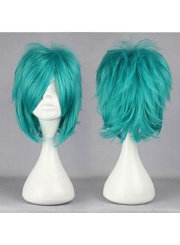 Fran Hairstyle Short Straight Layered Cosplay Wig 12 Inches