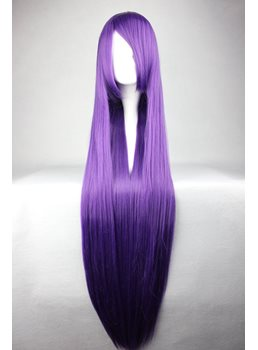 Kanu Unchou Hairstyle Long Straight Purple Cosplay Wig 30 Inches