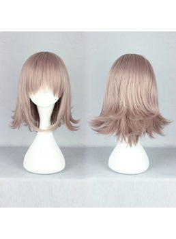 Japanese Dangan-Ronpa 2 Series Short Wave Taro Color Cosplay Wigs 14 Inches