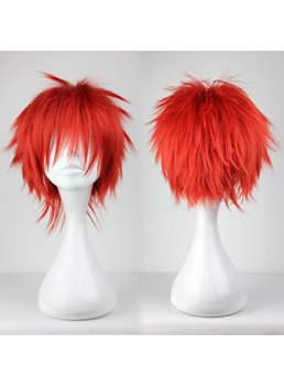 Akashi Seijuro Hairstyle Short Straight Cosplay Wig 8 Inches