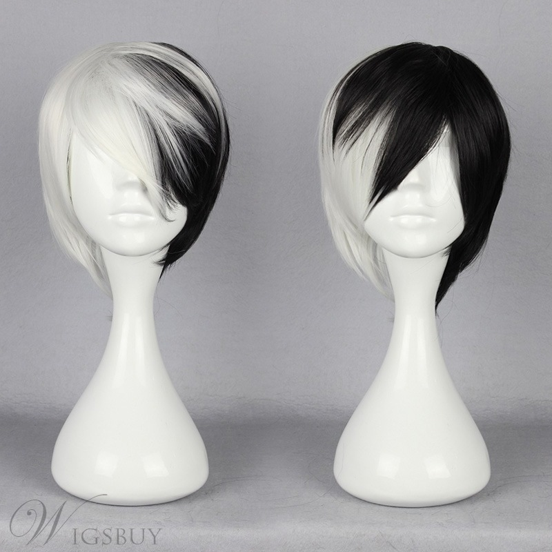 Japanese Dangan-Ronpa Series Mixed Color Cosplay Wigs