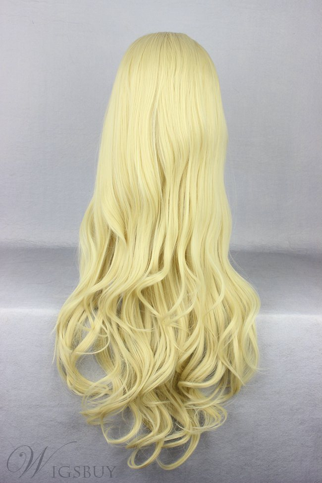 Japanese Lolita Style Light Yellow Color Cosplay Wigs 28