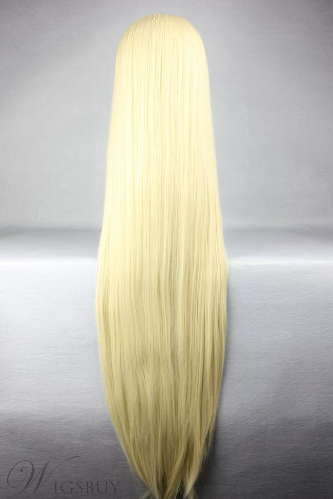 Eruda Hairstyle Long Straight Blonde Cosplay Wig 30 Inches