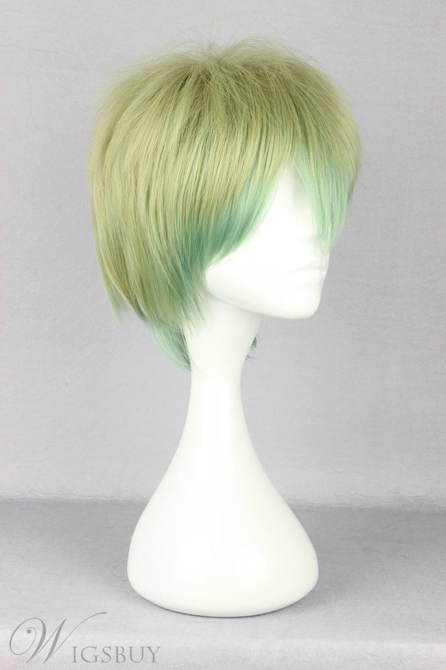 Japanese Lolita Style Mixed Color Short Cut Cosplay Wigs