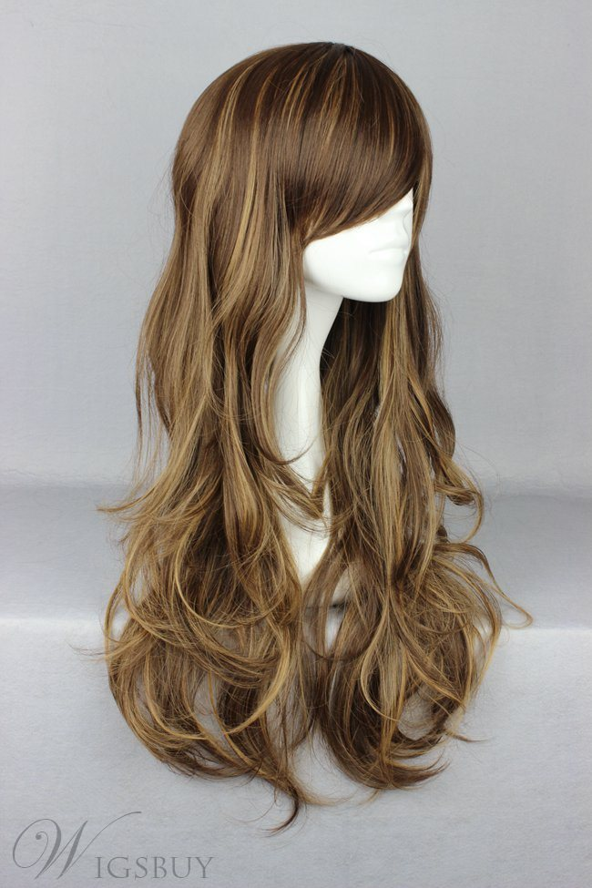 Japanese Lolita Style Mixed Color Cosplay Wigs 30 Inches