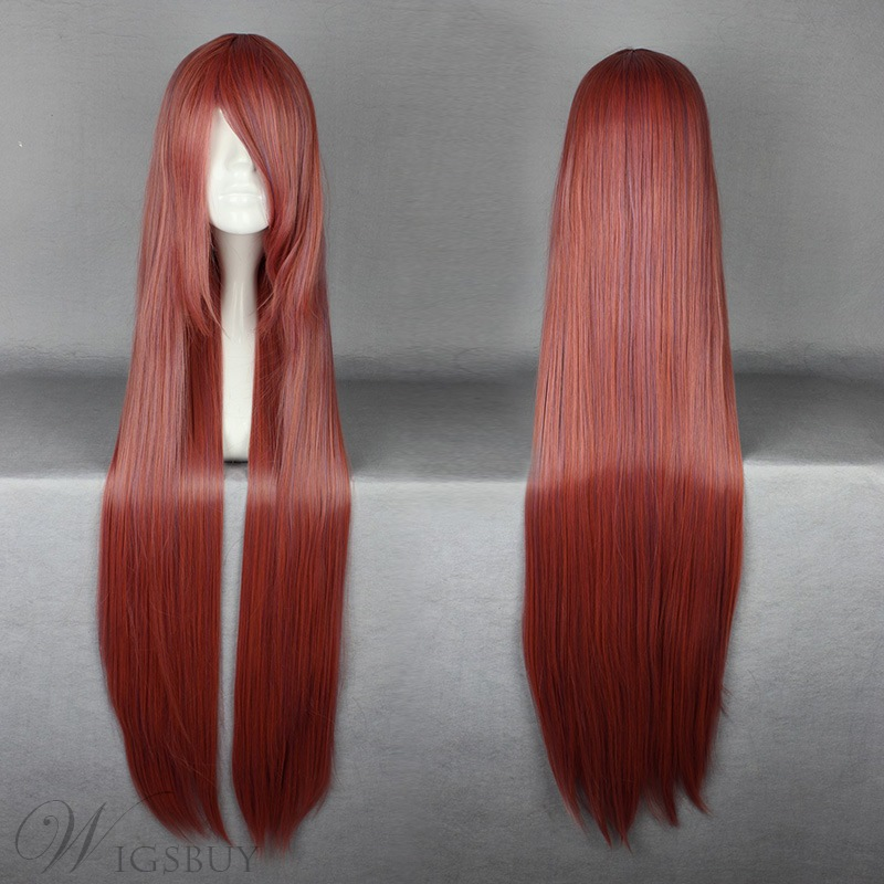 Versatile Long Straight Cosplay Wig