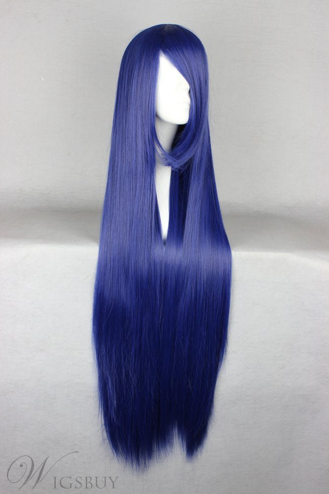 Furudo Erika Hairstyle Long Straight Cosplay Wig 30 Inches
