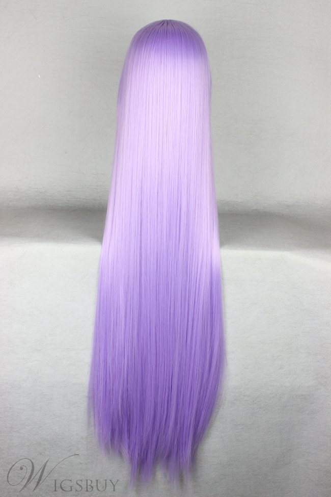 Athena Hairstyle Long Straight Purple Cosplay Wig 30 Inches