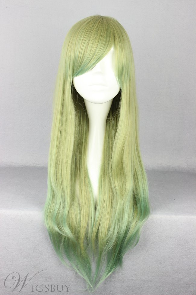 Japanese Lolita Style Mixed Color Cosplay Wigs 34 Inches