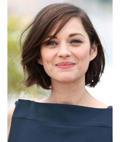 Graceful Short Straight Hairstyle Lace Front 100% Human Hair Wig 10 Inches