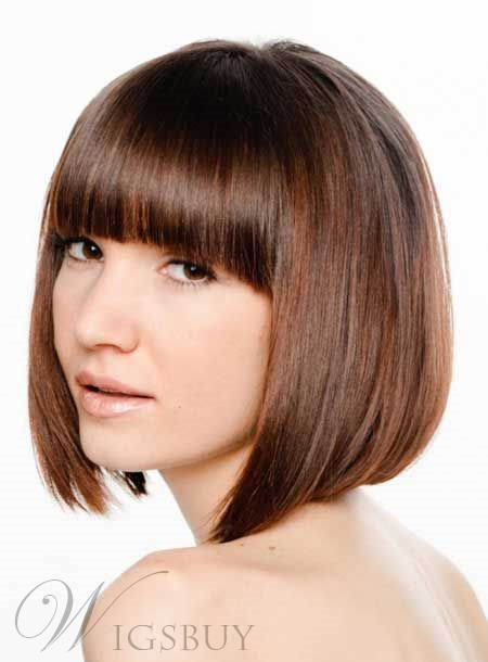 New Arrival Bob Straight Hairstyle Capless Synthetic Wig 10 Inches 11246511