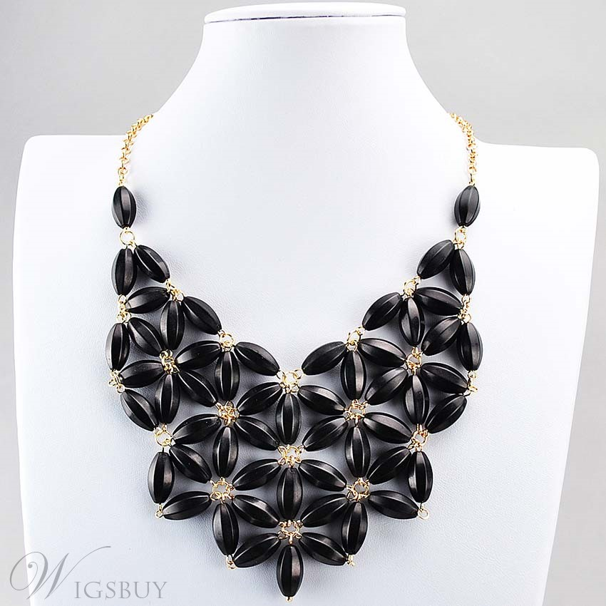 Fashion Vintage Floral Chunky Bohemian Style Necklace