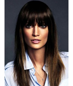 Hot Sale Fashionable Long Straight Capless 100% Human Hair Wigs 18 Inches