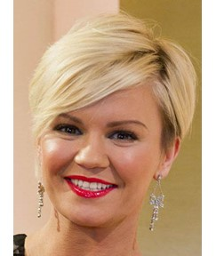 Chic Short Straight Full Lace Human Hair Wig