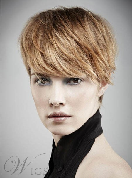 Enchanting Short Straight Capless Synthetic Wig