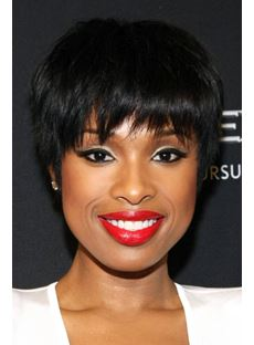 Custom Classical Sexy Short Straight Full Lace Wigs
