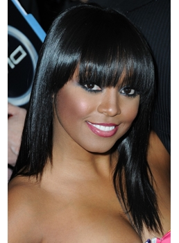 Cute Hairstyles Wigs For Black Girls With Mid Length Hair : Wigsbuy.com