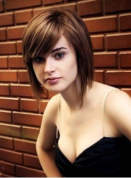 New Arrival Short Straight Lace Front Synthetic Wig 10 Inches