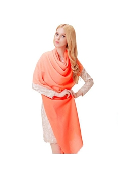 Fashionable Bright Pure Color Scarf