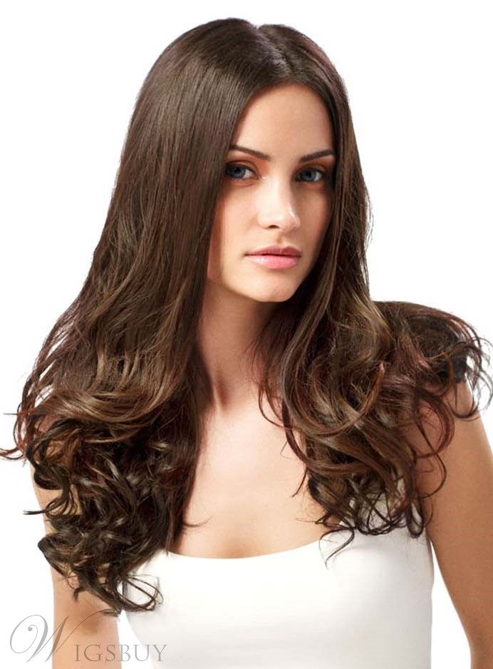 Long Bottom Curly Lace Front Human Hair Wigs 11291896