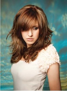 New Arrival Medium Layered Wave Synthetic Wig 16 Inches