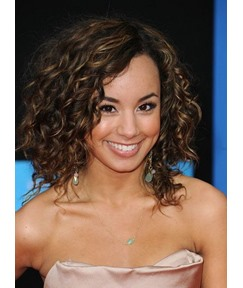 Youthful High Quality Attractive Medium Curly 100% Human Hair Lace Front Wigs 12 Inches
