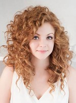 New Arrival Long Curly Full Lace Human Hair Wig 18 Inches
