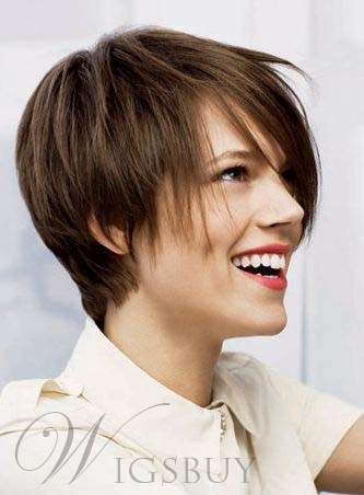 New Arrival Short Straight Capless Human Hair Wig