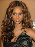 Beyonce Long Wave Lace Front Synthetic Wigs 22 Inches