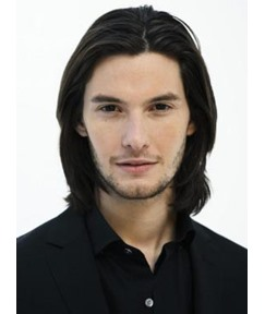 New Arrival Handsome Medium Layered Straight Lace Front 100% Human Hair Wig 12 Inches