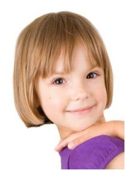 New Arrival Short Straight Capless Human Hair Wig 8 Inches for Kids
