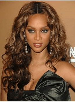 Beyonce Elegant Long Wave Lace Front Synthetic Wigs 22 Inches
