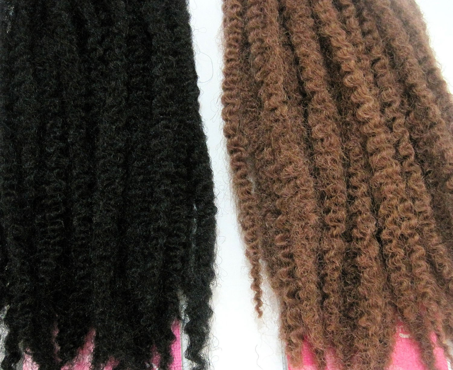 18 Inches Marley Braid Crochet Hair Stylesfor Afro Women