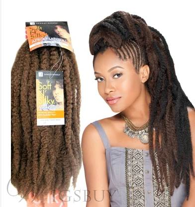 Crochet Braid Hair for African American Women Men # 2 #4 #27 # 30