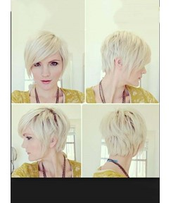 Soft Sweet Short Straight Monofilament Top Human Hair Wig 8 Inches