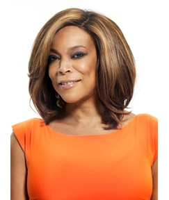 Wendy William Graceful Short Straight Bob Fluffy Hairstyle Lace Front Synthetic Wigs 12 Inches