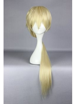 Life Sexy Long Layered Straight Golden Cosplay Wig
