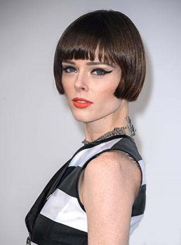 Stylish Short Straight Capless Human Hair Wig 6 Inches