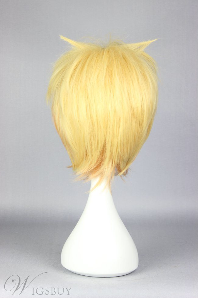 Hakone Short Straight Mixed Color Cosplay Wig