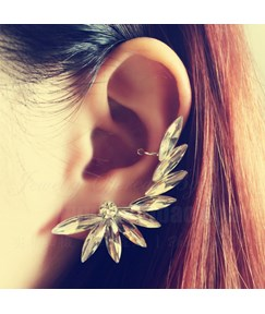 Silver Diamond Ear Cuff