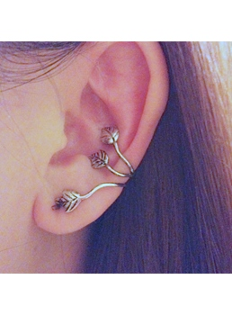 Street Fashion Leaf Ear Cuff