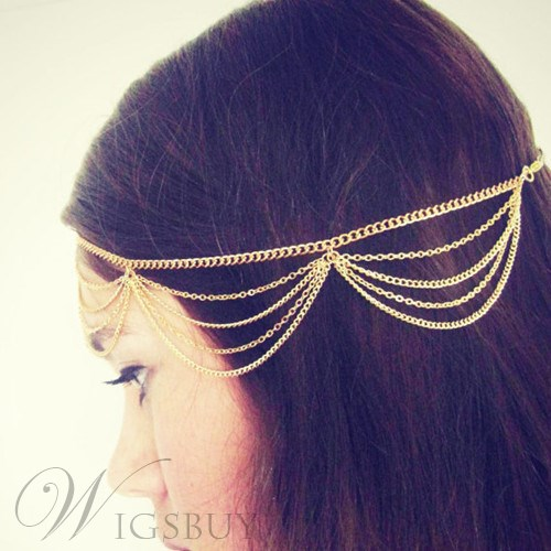 Multi-layer Alloy Hair Band