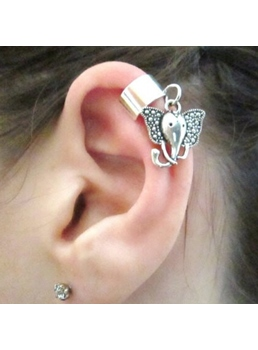Latest Trend Elephant Shape Women Ear Cuff