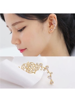New Arrival Butterfly Shape Rhinestone Ear Cuff