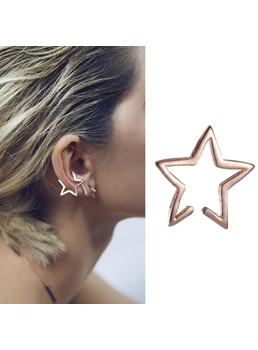 New Arrival Star Shape Women Ear Cuff